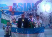 Таэквондисты Узбекистана стали призерами чемпионата Азии