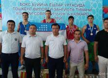 Madiyev and Yokubov named best boxers in the Tashkent Region International Youth Tournament in Zangiota