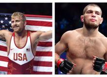 Жаҳон чемпиони UFC етакчиси ҳамда Олимпиада ғолиби билан жанг қилмоқчи