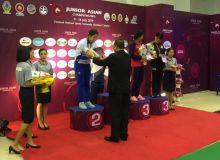 Наши девушки – призеры чемпионата Азии по спортивной борьбе