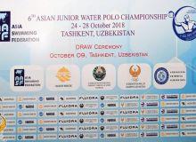Водное поло: Прошла жеребьевка чемпионата Азии среди юниоров