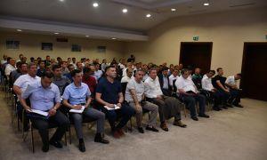 Умид Ахматджанов провёл встречу с главными тренерами, директорами клубов и судьями Суперлиги