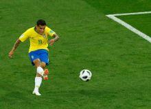Коутиньо Бразилия - Швейцария учрашувининг энг яхши футболчиси деб топилди