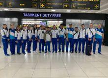 Uzbekistan's athletes leave for the World Taekwondo Championships Manchester 2019