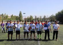 В Самарканде прошли соревнования по мини-футболу