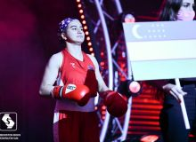 Sultonalieva, Rakhimova, Shogdarova wins their bouts at the Balkan Women's Tournament
