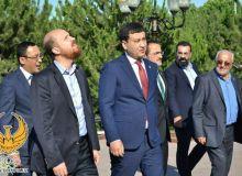 Торжественная встреча делегации Турции в Узбекистане