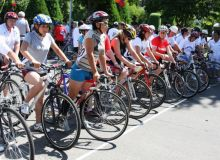 В Андижане прошел велотур
