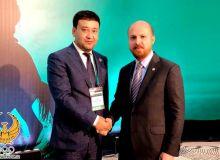 Руководитель НОК в Турции встретился с Билол Эрдоганом