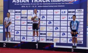 Ольга Забелинская - чемпионка Азии