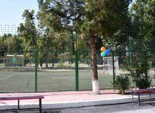 АФУ отремонтировала футбольное поле для детей с ограниченными возможностями