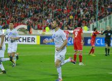 FC Pakhtakor play a 1-1 draw with Persepolis FC in Tehran
