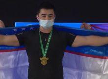 Kurbonmurod Namozov is the world champion among juniors!