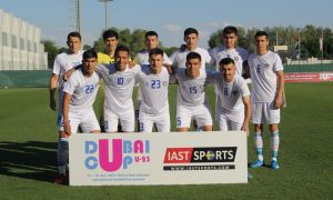 Uzbekistan draw 1-1 with Jordan in Dubai Cup U23