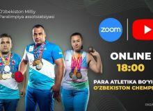 Наши Паралимпийцы приняли участие в онлайн-соревновании