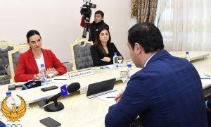 Елена Исинбаеванинг юртимиздаги ташрифи давом этмоқда
