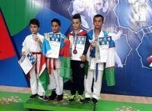 Каратист Узбекистана стал призером международного турнира в Баку