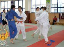 Представители НОК наблюдали за ходом подготовки дзюдоистов к Азиатским играм