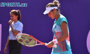 Сабина проиграла, Акгуль в четвертьфинале