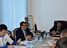 В Карши прошла встреча с участием вице-президентов региональных футбольных ассоциаций