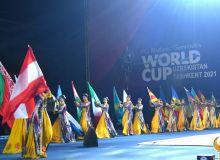 Прошла торжественная церемония открытия Кубка Мира по художественной гимнастике