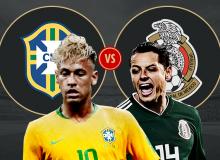 ЖЧ-2018. Бразилия - Мексика. Матнли трансляция (фото ва видео)