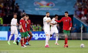 Евро-2020. Жанговар дуранг қайд этган Португалия ва Франция кейинги босқичга йўл олди