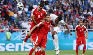 Сербия - Швейцария - 1:2. Голларни томоша қилинг (видео)