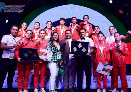 Promising star Jakhongir Zokirov and his younger sister Aziza claimed two gold medals for their family in Dubai