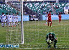 Фоторепортаж матча Афганистан - Узбекистан