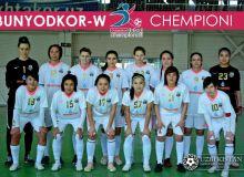 Bunyodkor-W claims Uzbekistan Women's Futsal League title