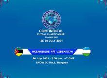 Сборная Узбекистана по футзалу разгромила африканскую сборную.