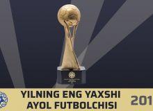 Номинанты на звание лучшей футболистки года