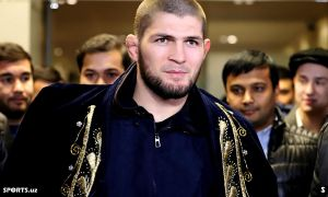 Photo Gallery. GFC 20 Honorary guest Khabib Nurmagomedov in Tashkent