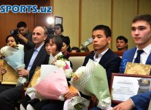 Photo Gallery. Uzbekistan Chess Federation awards the Bests of the Year 2018