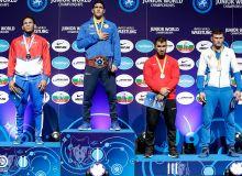 Maksud Veysalov earns the first medal for Uzbekistan at the 2019 Junio World Wrestling Championships