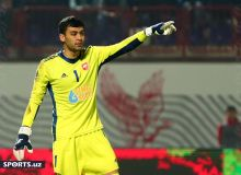 Umidjon Ergashev named the best goalkeeper in Antalya Cup 2021