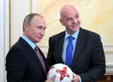 Путин Инфантинони давлат мукофоти билан тақдирлади (видео)