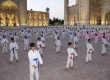 В Самарканде состоялся фестиваль «Звезды каратэ»