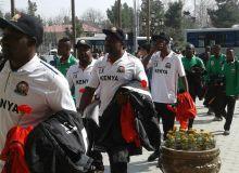 Кения олимпия терма жамоаси Андижонда катта тантана билан кутиб олинди