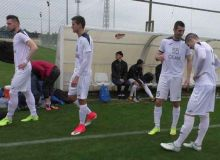 АГМК сыграл вничью с украинским клубом