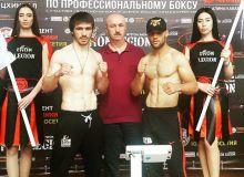 Профессиональный боксер Узбекистана Улугбек Холов сегодня поднимется на ринг