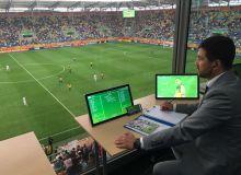 Farkhad Abdullaev officiates in FIFA Club World Cup Qatar 2021 opening match