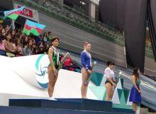Оксана Чусовитина – призер Кубка мира в Баку