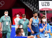Bekzod Abdurakhmanov clinches the bronze medal of Tokyo Olympic Games