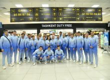 Uzbekistan national boxing team left for Serbia to participate in the AIBA Men's World Boxing Championships