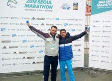 Андрей Петров установил личный рекорд в Корее