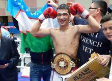 Хусниддин Пулатов выиграл пояс WBA Asia
