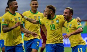 """""""Копа Америка"""". Бразилия йирик ҳисобда ғалаба қозонди, бугун Месси курашга қўшилади"""