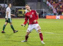 Эриксен Даниянинг 2018 йилдаги энг яхши футболчиси деб топилди